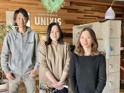 HAIR&MAKE UNIXISの画像・写真